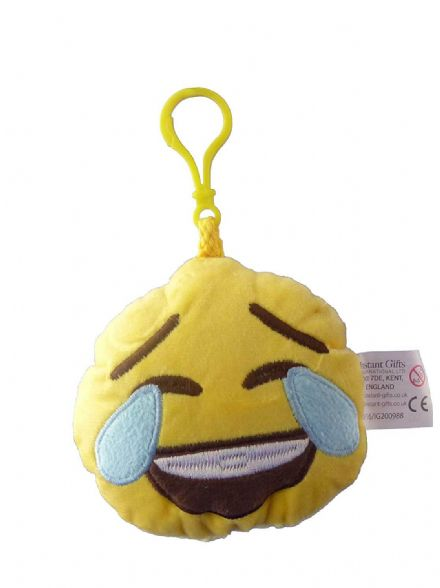 Emoji Laughing Crying Plush